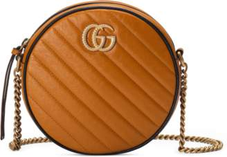 d8996524c2087f Gucci GG Marmont mini round shoulder bag