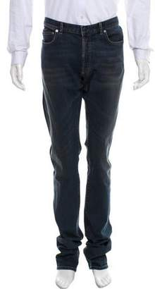 Christian Dior Distressed Slim-Fit Jeans w/ Tags