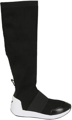 Ash Jezebel Knit Knee-high Boots