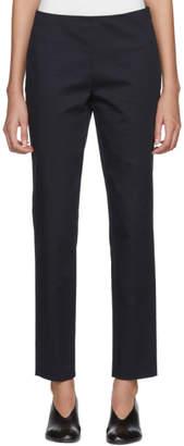 Jil Sander Navy Navy Stretch Gabardine Trousers