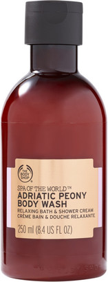 The Body Shop Spa Of The World Adriatic Peony Bath and Shower Cream