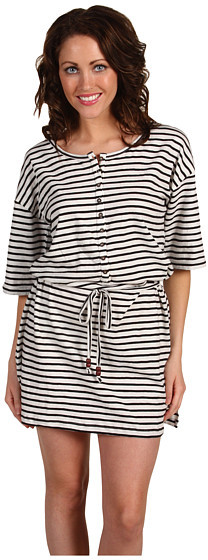 French Connection - Picasso Stripe Slouch Dress
