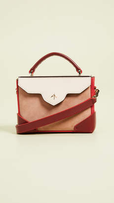 Atelier MANU Micro Bold Combo Leather Strap Top Handle Bag