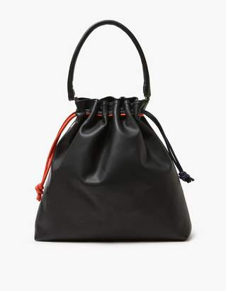 Grand Henri Maison in Black Slate/Navy/Poppy $395 thestylecure.com