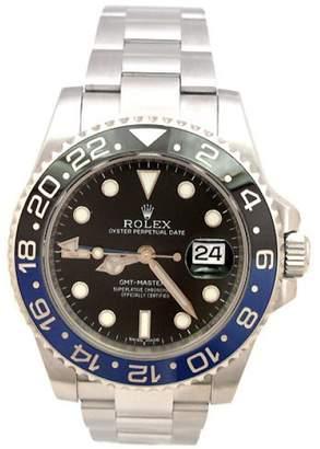 "Rolex GMT-Master II "" Batman"" 116710 Stainless Steel Ceramic Black & Blue 40mm Mens Watch"