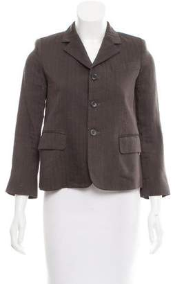 Marc Jacobs Structured Pinstripe Blazer