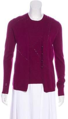 TSE Embellished Cashmere Cardigan Set