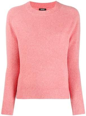 Aspesi V-neck fine knit jumper