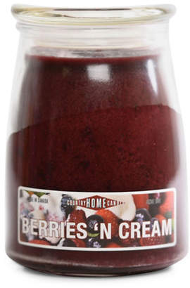 N. COUNTRY HOME CANDLE Berries Cream Candle Jar