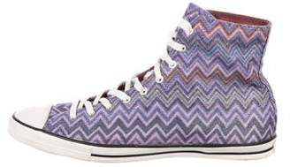 Converse Missoni x Printed High-Top Sneakers