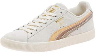 Puma Clyde Suede Platform Sneakers