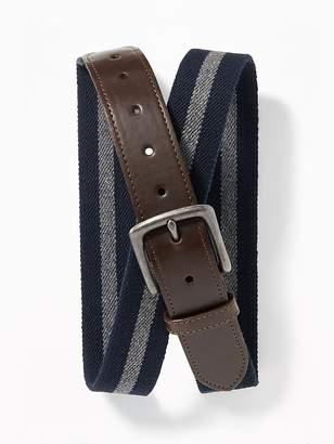 Old Navy Stretch-Canvas Belt for Men