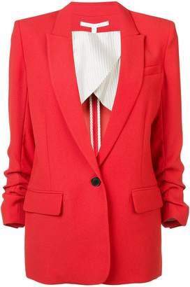 Veronica Beard boxy gathered sleeve blazer