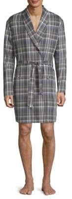 Hanro Loran Plaid Robe