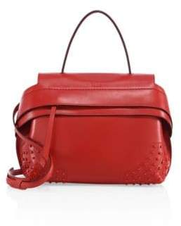 Tod's Wave Small Leather Satchel