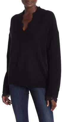 Brochu Walker Kali Wool Lace Looker Sweater