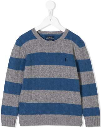 Ralph Lauren striped knit jumper