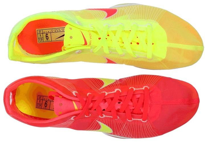 Nike Zoom Victory (Blue Glow/White/Electric Green) - Footwear