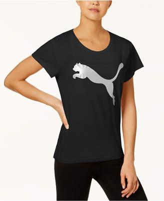 Puma Urban Sport Metallic-Logo T-Shirt