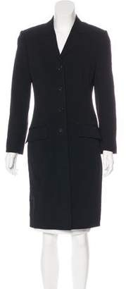 Dolce & Gabbana Structured Knee-Length Coat