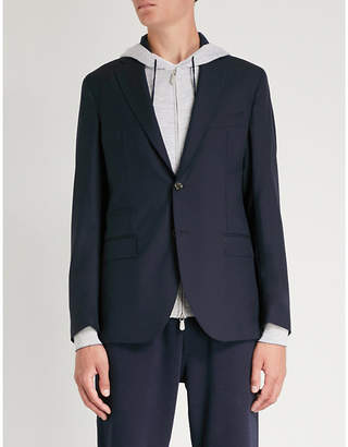 Eleventy Regular-fit wool jacket