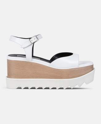 Stella McCartney white elyse sandals