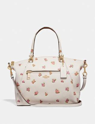 Coach Prairie Satchel With Floral Print