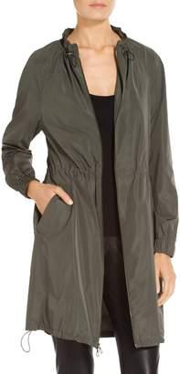 St. John Lightweight Taffeta Outerwear Anorak Jacket