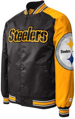 G-iii Sports Men Pittsburgh Steelers Starter Dugout Playoff Satin Jacket 5417c1d1d