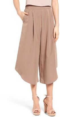 Women's Leith Pleat Culottes $65 thestylecure.com