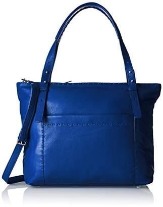 Liebeskind Berlin Newark Heasti, Women's Shoulder Bag, Blau (Electric Blue), 13 x 32 37 cm (wxhxd)