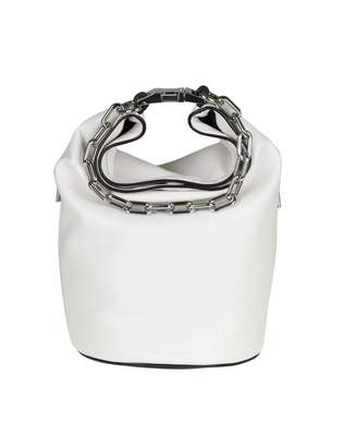 Alexander Wang attica Bag In White Color Leather