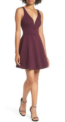 LuLu*s Love Galore Skater Dress