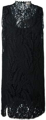 No.21 lace sleeveless dress
