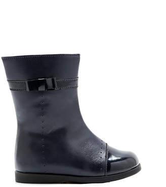 Jacadi Litchi Leather High Boot