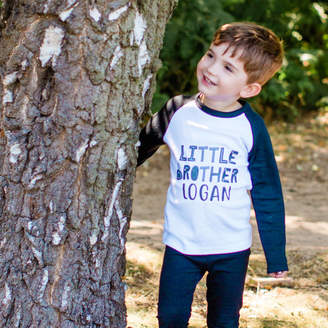 e7e924ca1b2 Little Baby Boutique Personalised Monochrome Big Sister   Brother T Shirt