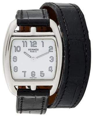 Hermes Cape Cod Tonneau Watch