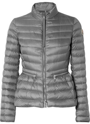 Moncler Quilted Shell Down Jacket - Gray