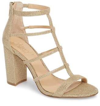 Badgley Mischka Teddy Glitter Sandal (Women)