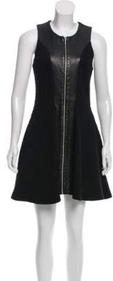 Nicholas Textured Mini Dress