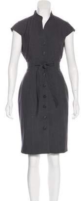 Calvin Klein Short-Sleeve Knee-Length Dress