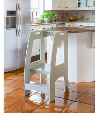 Guidecraft Step Up Kitchen Helper Gray