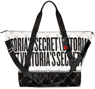 Victoria's Secret Victorias Secret Monogram Weekender Tote