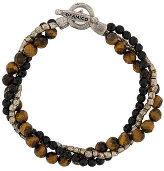 Andrea D Amico Multi Beaded Strings Bracelet