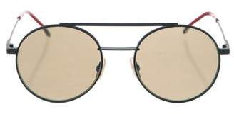 Fendi Round Reflective Sunglasses w/ Tags