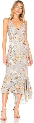 We Are Kindred Esme Ruffle Slip Dress