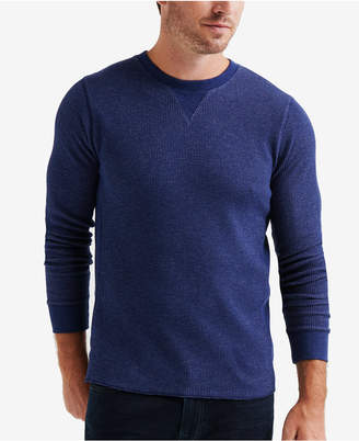 Lucky Brand Men Fleck Thermal Crew