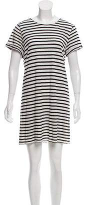 Alice + Olivia Linen T-Shirt Dress