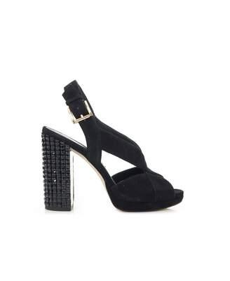 Michael Kors Becky Platform Studded Heel Shoes