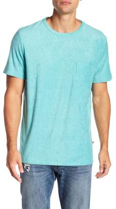 Trunks SURF AND SWIM CO Solid Terry Crew Neck Tee